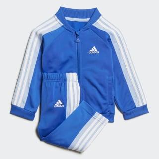 Conjunto Deportivo Shiny Top:blue/glow blue/white Bottom:BLUE/GLOW BLUE F19/WHITE ED1142