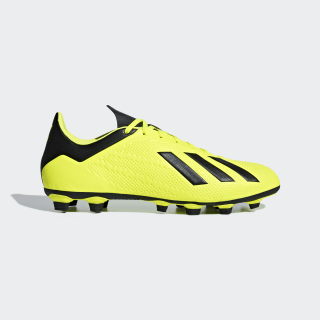 Zapatos de Fútbol X 18.4 Multiterreno SOLAR YELLOW/CORE BLACK/FTWR WHITE DB2188