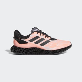 4D Run 1.0 Schoenen Signal Coral / Core Black / Cloud White FW6839