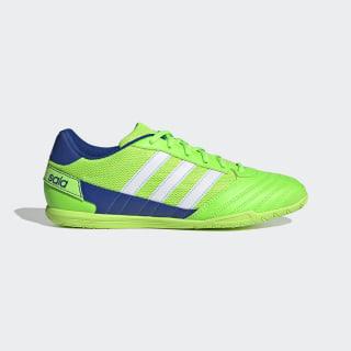 Botas de Futebol Super Sala Solar Green / Cloud White / Team Royal Blue FV2564