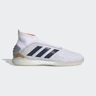 Zapatos de Fútbol Predator 19+ Zidane/Beckham Ftwr White / Silver Met. / Predator Red G27783