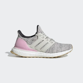 Кроссовки Ultraboost true pink / raw white / carbon F34033