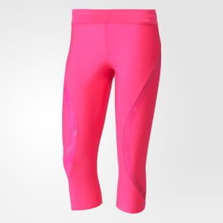 Леггинсы для бега Three-Quarter shock pink s16 S99228