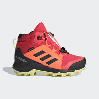 Terrex Mid GORE-TEX Hiking Shoes Shock Red / Core Black / Yellow Tint EF2249