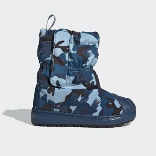 Superstar Winter Boots Ash Grey / Legend Marine / Core Black EE7262