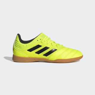 Футбольные бутсы (футзалки) Copa 19.3 IN Sala solar yellow / core black / solar yellow EF0561