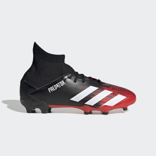 Calzado de fútbol Predator 20.3 Terreno Firme Core Black / Cloud White / Core Black EF1930