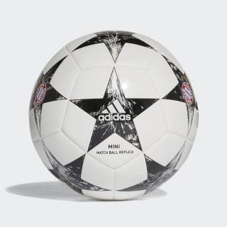 Mini balón Finale 17 FC Bayern Munich WHITE/BLACK/CRYSTAL WHITE S16/CINDER GREY BS3472