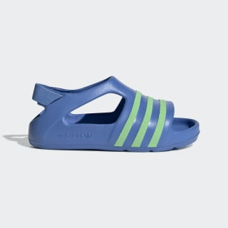 Adilette Play Slides Real Blue / Glow Green / Real Blue EE7256