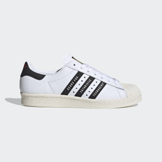 Sapatos Superstar 80s Human Made Cloud White / Core Black / Off White FY0728