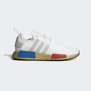 NMD_R1 Schoenen Cloud White / Lush Red / Lush Blue FV3642