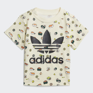 Футболка TEE SUSHI AOP Cream White / Multicolor / Black FM4876