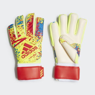 Classic League Gloves Solar Yellow / Active Red / Football Blue DT8747