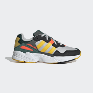 Yung-96 Shoes Grey One / Bold Gold / Solar Red DB2605