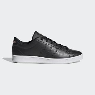 รองเท้า Advantage Clean QT Core Black / Core Black / Clear Orange F34709