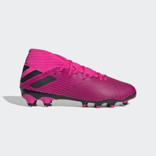 Bota de fútbol Nemeziz 19.3 césped artificial Shock Pink / Core Black / Shock Pink EG3163