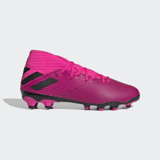 Scarpe da calcio Nemeziz 19.3 Multi-Ground Shock Pink / Core Black / Shock Pink EG3163