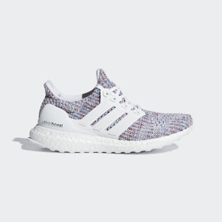 Ultraboost Shoes Cloud White / Cloud White / Active Red DB3211