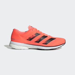 Zapatilla Adizero Adios 5 Signal Coral / Core Black / Cloud White EG1196