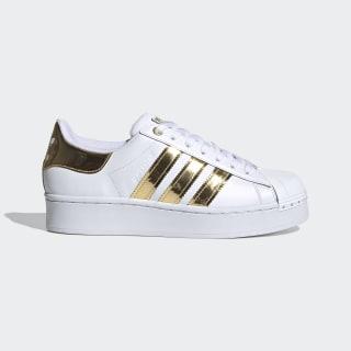 Кроссовки Superstar Bold Cloud White / Core Black / Gold Metallic FV3340