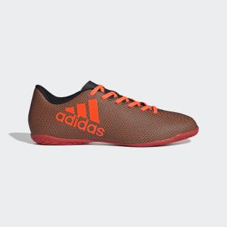Calzado de Fútbol X 17.4 Indoor CORE BLACK/SOLAR RED/SOLAR ORANGE S82406