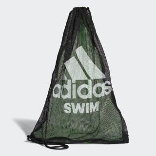 Borsa Swim Mesh Black / Flash Green / White CV4012
