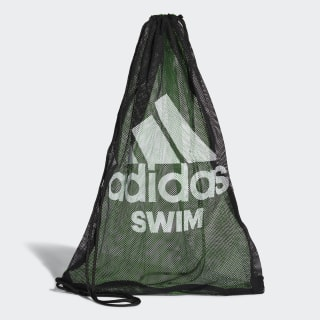 swim mesh bag Black / Flash Green / White CV4012