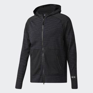 Bluza z kapturem adidas Athletics x Reigning Champ Primeknit Black Melange BR5205