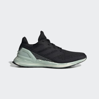Кроссовки для бега RapidaRun Parley core black / core black / ash green s18 G26114
