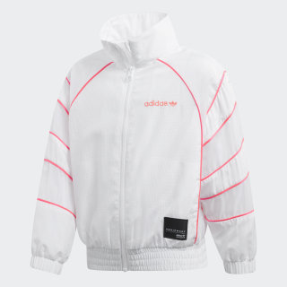 WINDBREAKER L EQT WB WHITE/TURBO D98879
