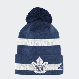 Maple Leafs Team Cuffed Pom Beanie Nhltml CX3127