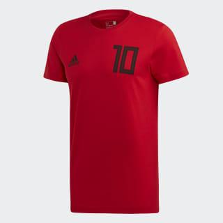 Salah 10 Graphic Tişört Scarlet FT1440