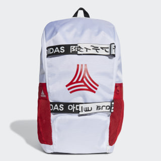 Football Street AEROREADY Backpack White / Scarlet / Black FI9351