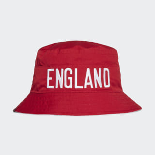 Двухсторонняя панама Англия team power red / white FJ1001