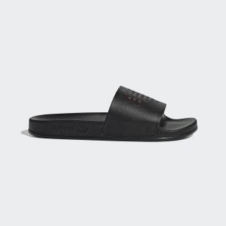 Adilette Slides Core Black / Lush Red / Core Black EG6700