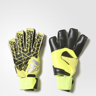 Вратарские перчатки ACE TRANS FS PR solar yellow / black / semi solar yellow AP6991