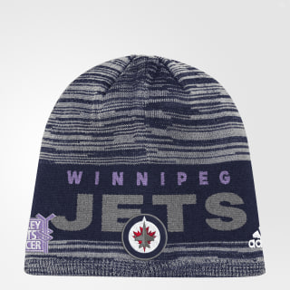 Hockey Fights Cancer Jets Heathered Beanie Multicolor DC0004