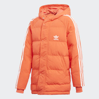 Утепленная куртка Trefoil Synthetic bright red / white DH2688