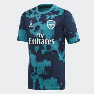 Camisola de Aquecimento do Arsenal Eqt Green / Dark Blue FJ9296