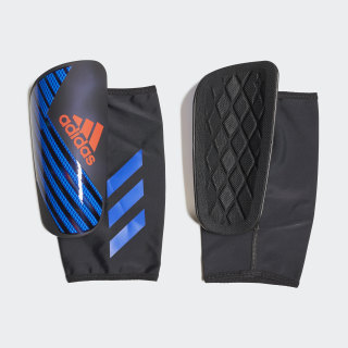 X Pro Shin Guards Black / Bold Blue / Active Red DN8624