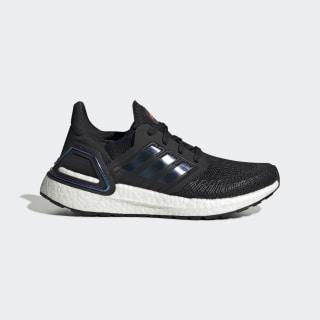 Sapatos Ultraboost 20 Core Black / Boost Blue Violet Met. / Cloud White EG4861