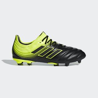 Scarpe da calcio Copa 19.1 Firm Ground Core Black / Core White / Solar Yellow D98092