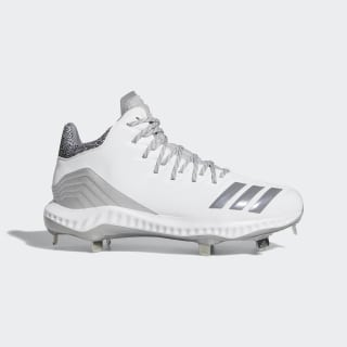 Icon Bounce Mid Cleats Cloud White / Grey / Grey CG5181