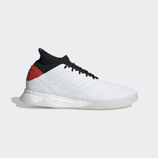 Predator 19.1 Trainers Cloud White / Cloud White / Hi-Res Red F35619