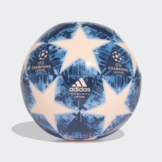 BALL (MACHINE-STITCHED) FINALE18 CAP CLEAR ORANGE/TRACE ROYAL S18/LEGEND INK/ASH BLUE S18 TRACE ROYAL S18 CW4128