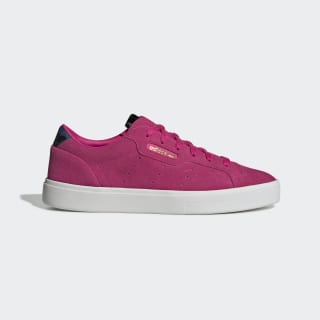 Zapatillas adidas SLEEK W Shock Pink / Shock Pink / Core Black EE5292