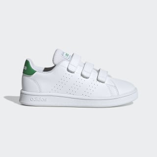 Advantage Shoes Cloud White / Green / Grey Two EF0223