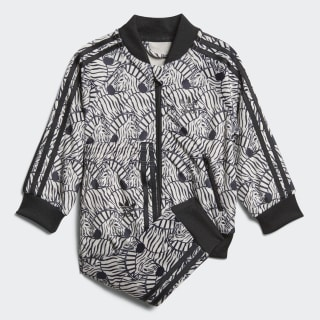 Zebra SST Track Suit Clear Brown / Black D98811