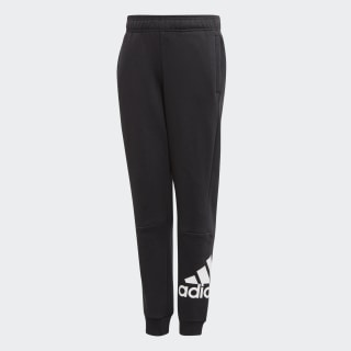 Must Haves Badge of Sport Fleece Pants Black / White ED6461
