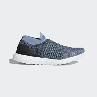 Tênis Ultraboost Laceless Parley Raw Grey / Carbon / Blue Spirit CM8271